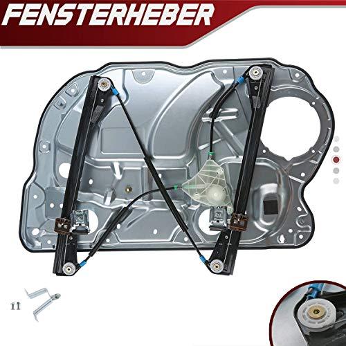 Fensterheber Mit Metallplatte Ohne Motor Vorne Links für Polo 9N 4/5-Türer 2001-2009 6Q4837461