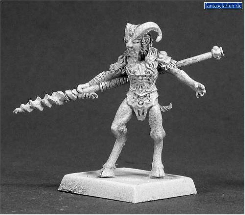 Elves  Tanwylen, Satyr Sergeant by Reaper