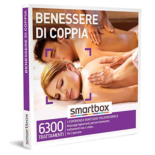 smartbox - Cofanetto Regalo - Benessere di Coppia - Idee Regalo - 1 Esperienza Benessere per 2 Persone
