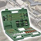 YNITJH Kit De Limpieza Armas,Kit De Cepillos Limpieza De Pistola Universal con Estuche Portátil,Arma Cuidado Mantenimiento Kit,Adecuado para Todas Las Armas