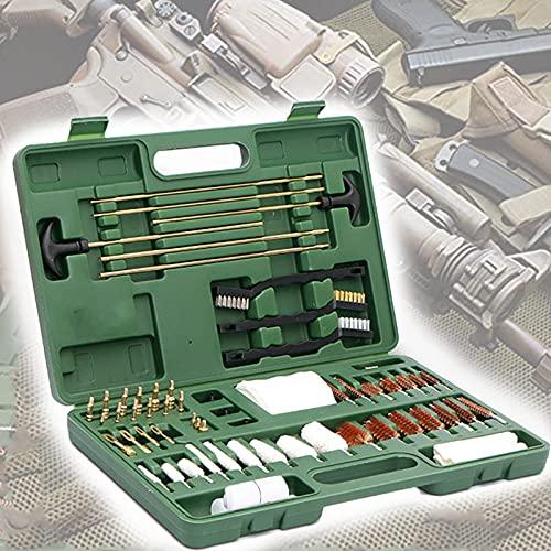 YNITJH Kit per Pulizia Armi Universale,Scatola Pulizia per Fucile,Tutto in Uno Premium Robusta Valigia Accessori Armi,per Manutenzione e Pulizia delle Armi