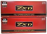 ZEN King Size Full Flavor Cigarette Tubes -2 pack, 250 ct per box
