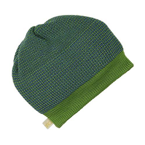 Disana Beanie aus kbT-Merino-Schurwolle für Baby und Kinder (1=42-46 cm,...