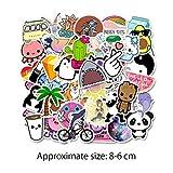 Akwind Autocollants Sticker Pack, 100 Graffiti Bagage Autocollants Imperméable Sticker Portable pour Bagages Macbook Ordinateur