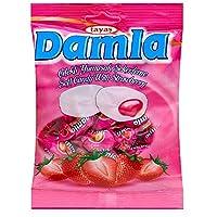 ダムラ ストロベリーソフトキャンディ 90g(約19粒入)×4袋