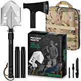 PATHWAY NORTH Camping Axe and Survival Shovel – Stainless Steel...