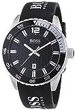 Hugo Boss HB6013 - Reloj (Reloj de Pulsera, Masculino, Acero Inoxidable, Negro, Acero Inoxidable, Silicona, Negro)