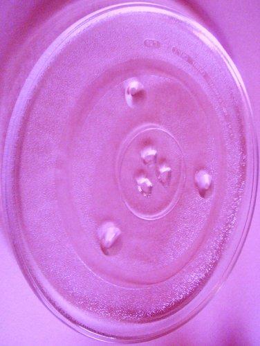 Mikrowellenteller / Drehteller / Glasteller für Mikrowelle # ersetzt Microstar Mikrowellenteller # Durchmesser Ø 31,5 cm / 315 mm # Ersatzteller # Ersatzteil für die Mikrowelle # Ersatz-Drehteller # OHNE Drehring # OHNE Drehkreuz # OHNE Mitnehmer