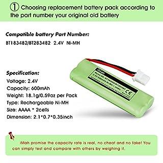 اسعار 2-حزمة iMah Ryme B6 BT183482 BT283482 بطارية