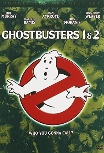 Ghostbusters Double Feature Gift Set (Ghostbusters   Ghostbusters 2 + Commemorative Book)