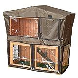 Charles Bentley Guinée Truie & Clapier Couverture Cage Hutch.03 avec Trous De Ventilation - Animaux Entièrement Assemblé