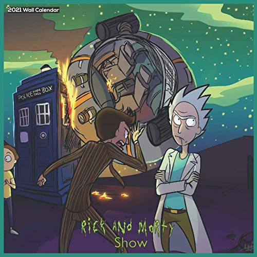 Rick And Morty Show 2021 Wall Calendar: Official Calendar Rick And Morty