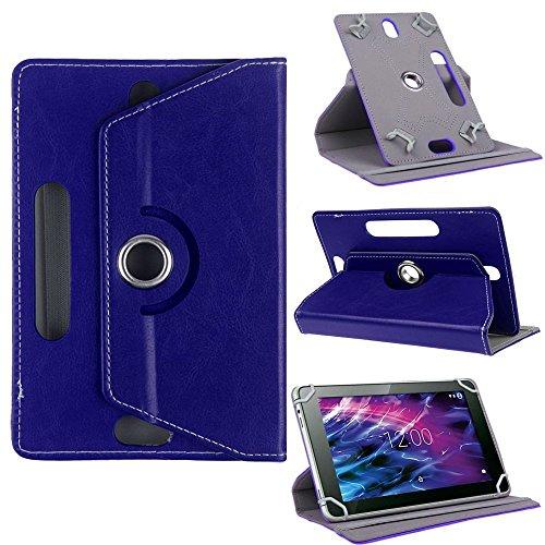 Tasche Medion Lifetab P9702 X10302 P10400 S10366 P10506 Tablet Hülle Hülle Cover, Farben:Blau