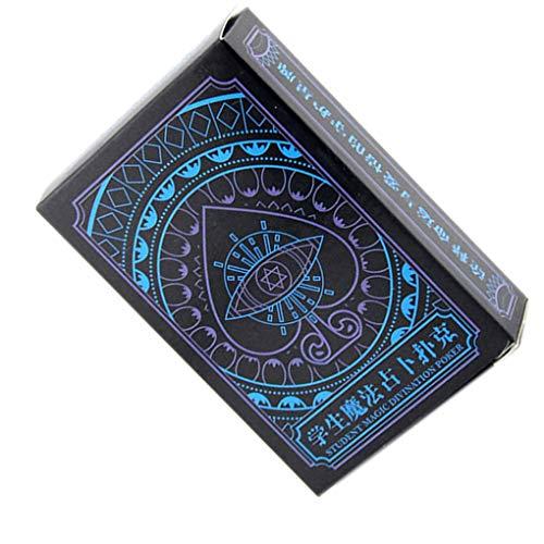54pcs Mysterieuze Fate waarzeggerij kaarten Party Magic Tricks Props student bordspel speelkaarten