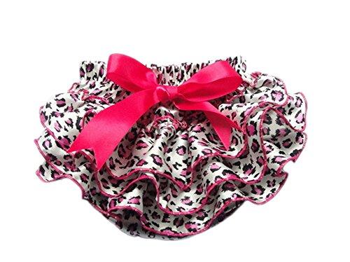 DELEY Muchachas del niño de la impresión del Leopardo de la Colmena Bloomers Bragas pañal Cubiertas