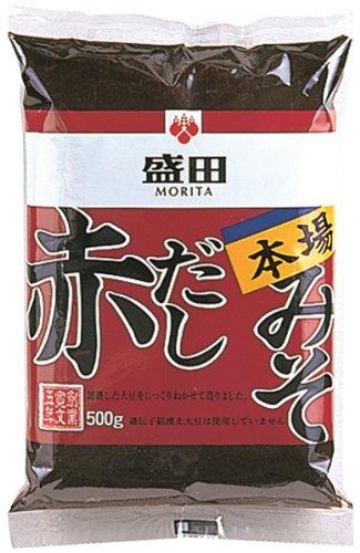 盛田 本場赤だしみそ 500g×2袋