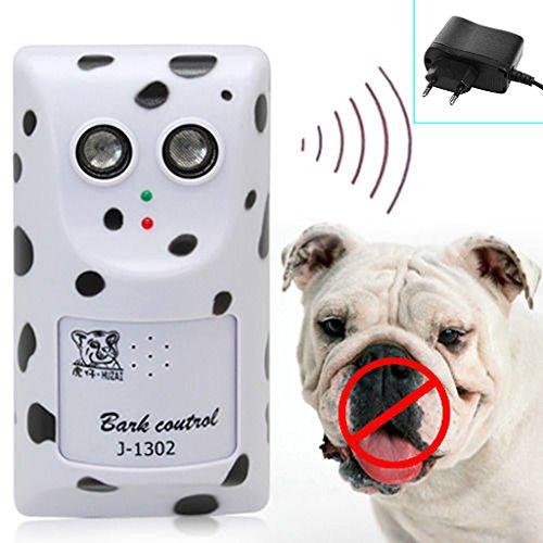 ECMQS ultrasone mensely anti no bark apparaat stop control dog bellen geluidsdemper ophangsysteem