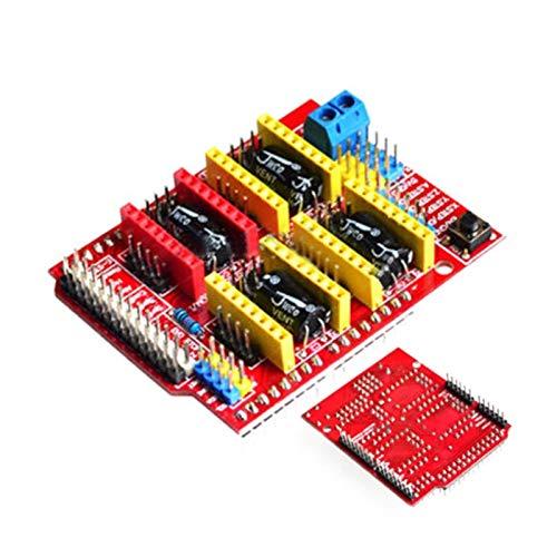 VIKTK A4988 Conductor CNC Shield PABITACIÓN Ajuste para ARDUÍNO V3 Pieza De Grabador Circuitos Integrados Accesorio De Electrónica Impresoras 3D Par