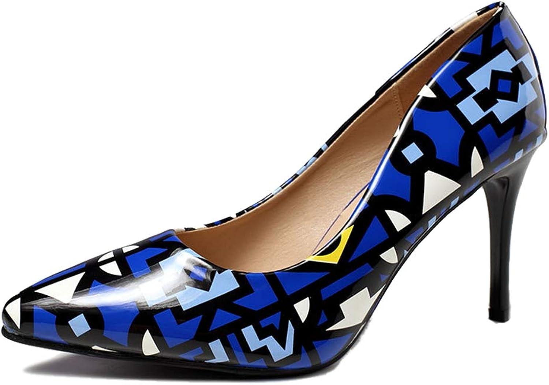 Sam Carle Women's Pumps Pointed-Toe Thin Heel Wear Resistant Spring Pump