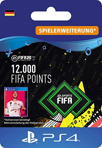 FIFA 20 Ultimate Team - 12000 FIFA Points DLC - PS4 Download Code - deutsches Konto