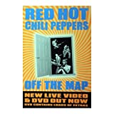Poster rolled up Red Hot Chili Peppers Design: Off the map