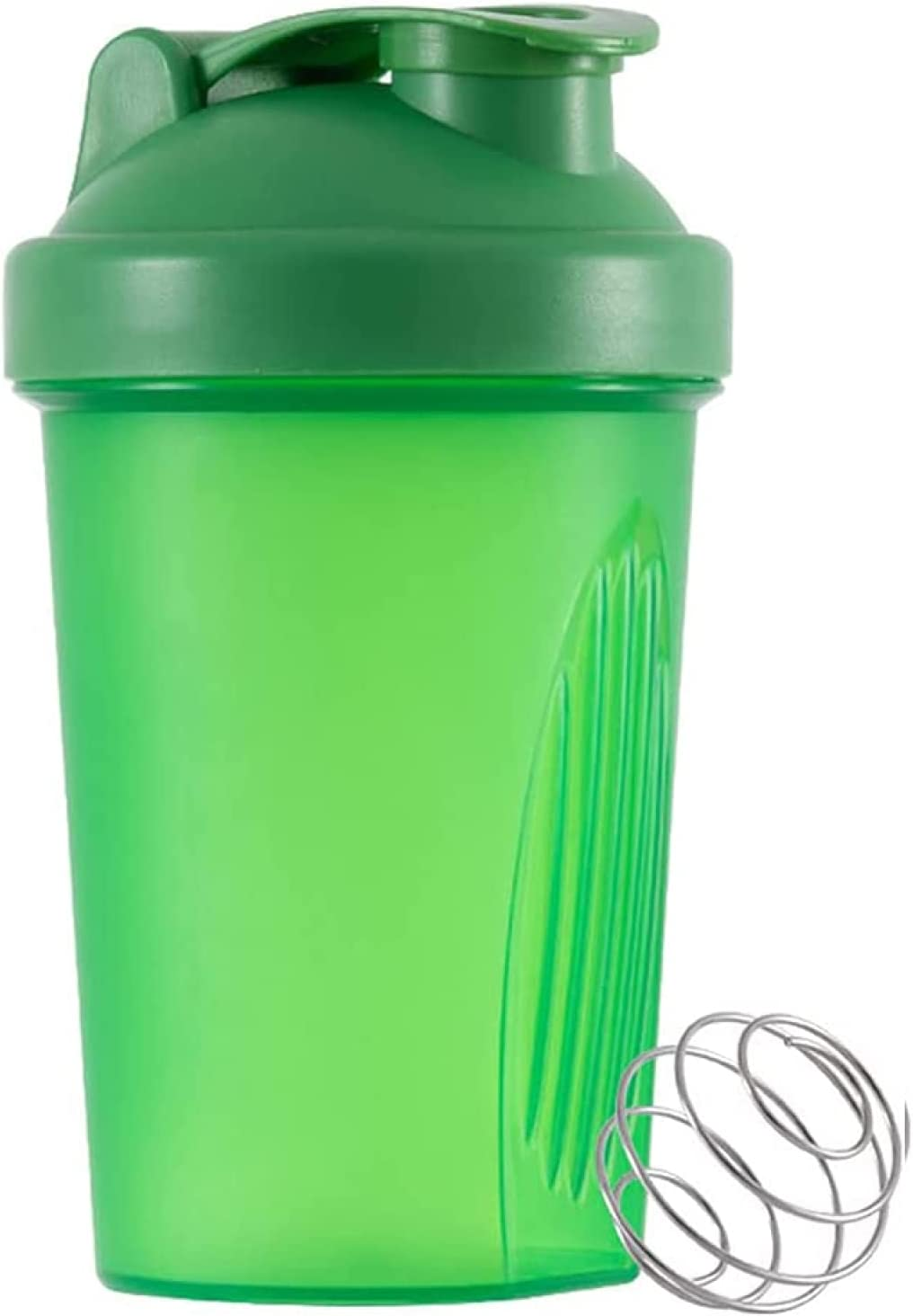 Maiges Lee Classic Excellence Manufacturer direct delivery Loop Top Shaker Bottle Mixer with Wire 400ML