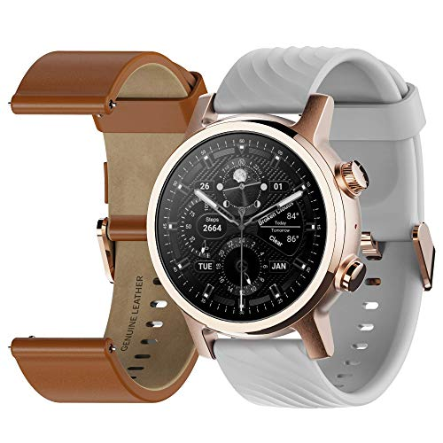 Moto 360 3rd Gen 2020 - Wear OS by Google - The Luxury Stainless Steel Smartwatch with Included Genuine...