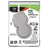 Seagate 2 TB FireCudaゲーミングSSHD 2.5インチ内蔵ソリッドステートハイブリッドドライブ(PCおよびPS4用)