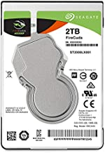 Seagate FireCuda 2TB Solid State Hybrid Drive Performance SSHD – 2.5 Inch SATA 6GB/s Flash Accelerated for Gaming PC Lapto...
