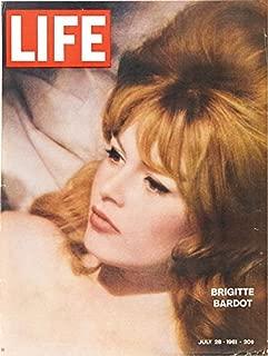 LIFE Magazine - July 28, 1961 (Brigette Bardot, 51)