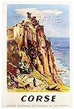 PostersAndCoTM Korsika Poster / Kunstdruck, 40 x 60 cm *