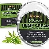 ProtoHemp Anti-inflammatory Hemp Cream - Hemp Healing Ointment for The Back, Knees, Hands
