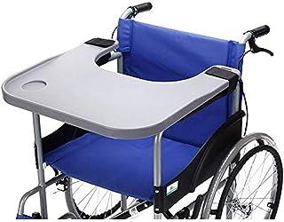 DYHQQ Accesorios de Mesa para bandejas de sillas de Ruedas con portavasos Silla portátil médica Bandejas