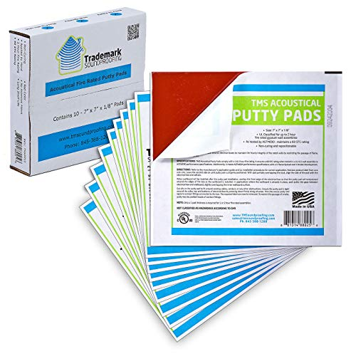 Sound and Fire Rated Acoustical Putty Pads (7