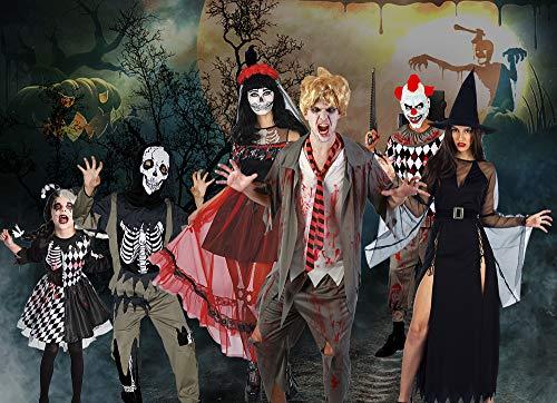 U LOOK UGLY TODAY Disfraz de Halloween para niños, Traje Festivo para Fiesta de Carnaval, Vestido de Chico Hecho de Dia…