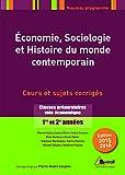 Economie, sociologie et histoire du monde contemporain - Classes préparatoires voie économique 1re et 2e années