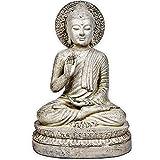 """Zen World Buddha Statue, 14"""" Buddha for Buddha Decor Zen Decor Meditation Decor"""