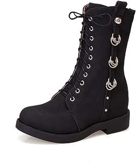 BalaMasa Womens ABS13999 Pu Boots