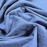 Stoff am Stück Stoff Baumwolle Batist pastellblau