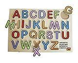 Unbekannt edufun EF 12005–Holzspielzeug–ABC Puzzle Farbe
