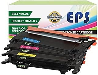 EPS Replacement Toner Cartridge Replacement for Samsung CLX-3300 CLX-3305 CLX-3305FN CLX-3305FW CLX-3305W SL-C460FW ( Black, Cyan, Yellow, Magenta , 4 pk )