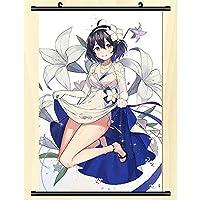 ウォールスクロール壁画ポスター崩壊3rdアニメオタク壁掛けポスターアニメーション周辺ファンギフト-50x75cm,20inchx30inch