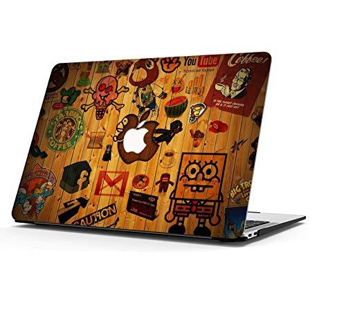 AOGGY Custodia per MacBook Pro 13 pollici 2020 versione A2338 M1/A2289/A2251, Colorful Pattern plastica custodia rigida per MacBook Pro 13 pollici con Touch Bar e Touch ID - Così è la Vida