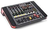 Power Dynamics PDM-M404A Mesa de mezclas 4 entradas para micrófono Procesador multi-FX de 24 bits...