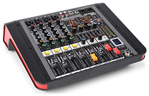 Power Dynamics PDM-M404A Mesa de mezclas 4 entradas para mic