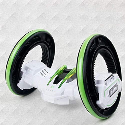 Children Wireless Toy Stunt Off-Road Vehículo de cuatro vías Control remoto de dos ruedas Coche Rotación de 360 ° RC Coche de juguete recargable RC Buggy Mejor año nuevo regalo para niños RC Coche d