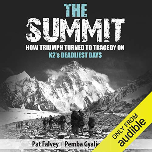 The Summit audiobook cover art