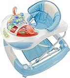 bieco Baby Lauflernwagen, kippsichere Lauflernhilfe für Kleinkinder, gehfrei, Activity-Center zum...