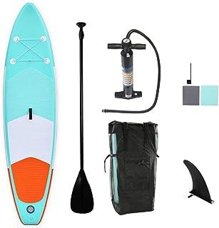 SUPインフレータブル SUPボード サーフボード スタンドアップ ソフトボード フィットネスやフィッシングに適したボード 305cm*76cm*15cm 初心者 海 湖 ヨガ 釣り