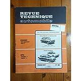 Rta-revue Techniques Automobiles - MANTA ASCONA B Revue Technique Opel Etat - Bon Etat Occasion